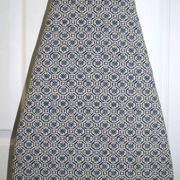 Ironing Board Cover, Lined, Up-cycled from Vintage Sheets