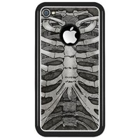 Ribcage iPhone 4 Clear Case on CafePress.com