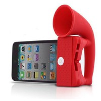 Red ihorn for iPhone 3, 3G, 4, 4S