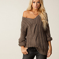 Chunky Cable Blouse, Saint Tropez