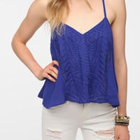 Ecote Embroidered Front Cami