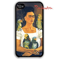 Frida Kahlo iPhone 4 Case, iphone 4 case, iPhone 4s Case, iPhone 4 Hard Case, iPhone Case