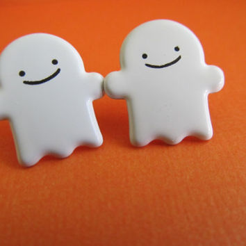 Halloween Ghost Earrings