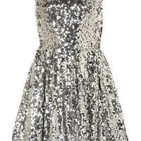Sequin Skater Dress - Dresses - Going Out  - Collections