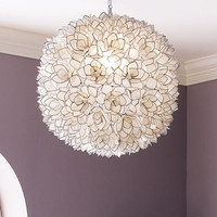 Capiz-Shell Pendant Light - Horchow