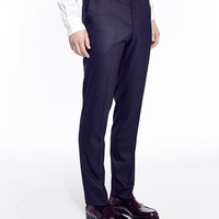 The Idle Man Suit Trousers in Skinny Fit - Navy