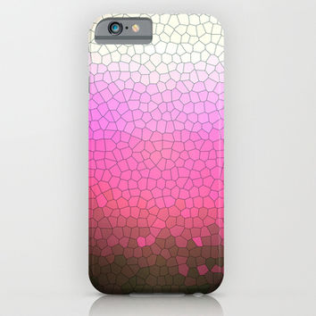 pink sparkle iPhone & iPod Case by Steffi Louis Finds&art