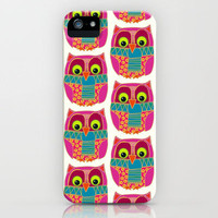 kookie owl iPhone Case by Sharon Turner | Society6