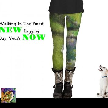 Walking In The Forest by Ginette Callaway (Leggings)