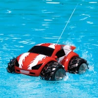 The RC Amphibious Car - Hammacher Schlemmer