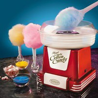 Nostalgia Electrics? PCM805RETRORED Retro Series? Hard & Sugar-Free Cotton Candy Maker, Nostalgia Products Group - Barnes & Noble