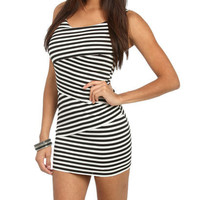 Striped Zigzag Bodycon Dress | Shop Dresses at Wet Seal