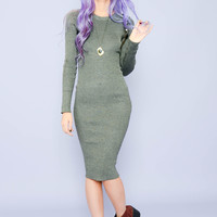 Hugs And Kisses Midlength Ribbed Sweater Dress – Women's High Street Fashion & Accessories   Minty Jungle