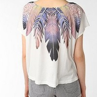UrbanOutfitters.com > BIRD Band of Feather Wings Crop Tee