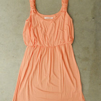 A Lovely Dress in Apricot [3155] - $32.00 : Vintage Inspired Clothing & Affordable Fall Frocks, deloom | Modern. Vintage. Crafted.