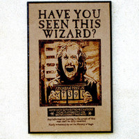 Sirius Black wanted poster  Harry Potter by BaconFactory on Etsy