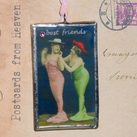 Best Friends Mermaids  Postcards from Heaven  by nextdoortoheaven