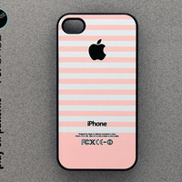 iphone 4 Case - iphone 4 cover - plastic or rubber - chiq pink