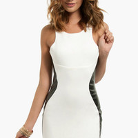 Racetrack Leather Dress $58