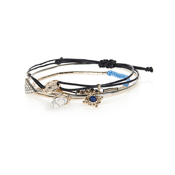 River Island Womens Turquoise casual bracelet pack