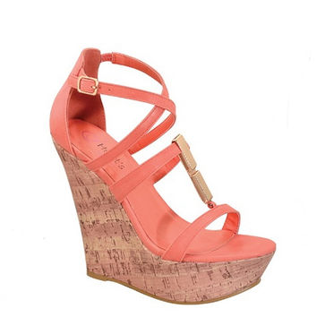 STRAPPY WEDGE HEEL