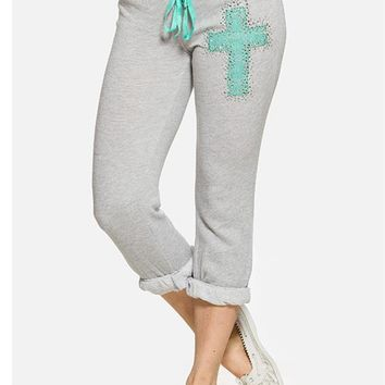 Lace Cross Crops