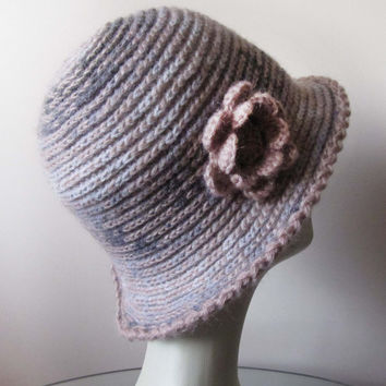 Womens Fall and winter hat / Crochet hat pattern / Fashion Trends 2014-15