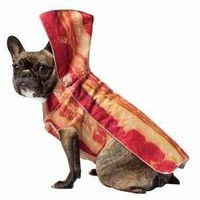 Halloween Dog Costume in Bacon Style