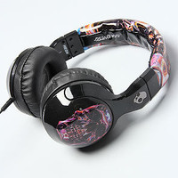 The dB Hesh 2.0 Headphones with Mic in Galactica Luca Skull