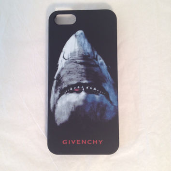 Givenchy phone case with Shark for the iPhone 5 5s - Givenchy phone case with Shark for the iPhone 5/5s