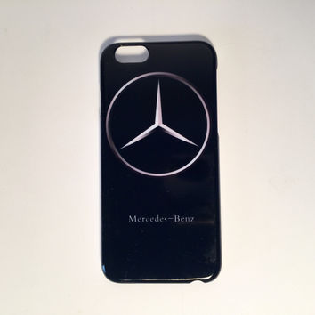 Mercedes Benz black logo phone cases for the iPhone