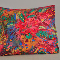 Simple colorful  pillow  case