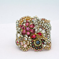 Doloris Petunia One of a Kind Custom Cuff (Example)