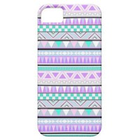 Bright Aztec Andes Pattern iPhone 5 Case from Zazzle.com