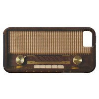 iPhone 5 Case-Mate Vintage Radio from Zazzle.com