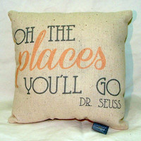 Oh the Places You&#x27;ll Go By Dr. Seuss
