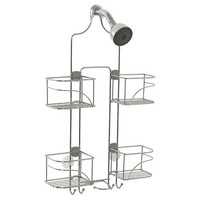 Zenna Home Expandable Rust-Resistant Shower Head Caddy