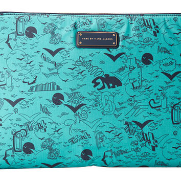 Marc by Marc Jacobs Coated Canvas Doodle Print 13