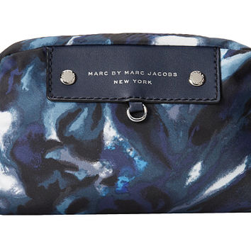 Marc by Marc Jacobs Pretty Nylon Painterly Blue Print Madlen Pouch