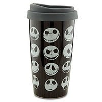 Disney Ceramic Jack Skellington Travel Tumbler | Disney Store
