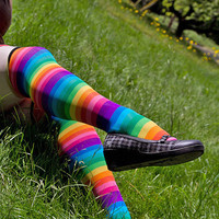 Socks by Sock Dreams  Whats New  Rainbow OTK