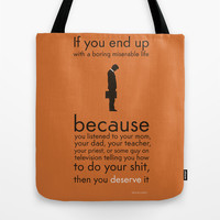Determination Tote Bag by Budi Satria Kwan