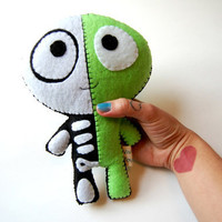 The Half Plush / Eco Friendly Plush Toy