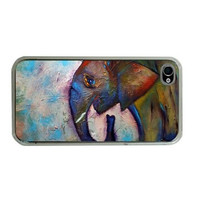 Elephant iPhone 5, iPhone Case 4/4S, iPhone Cover 3G/3GS, iPod Touch 4G - Elle