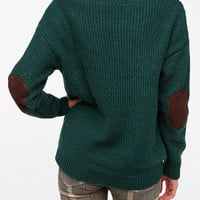 Coincidence &amp; Chance Flecked Elbow Patch Sweater