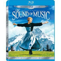 The Sound of Music (Three-Disc 45th Anniversary Blu-ray/DVD Combo in Blu-ray Packaging): Christopher Plummer, Julie Andrews, Eleanor Parker, Peggy Wood, Charmian Carr: Movies & TV