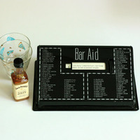 Vintage Bar Aid Cocktail Recipe Finder by WiseApple on Etsy