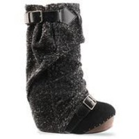 Irregular Choice Longer Lashes in Black at Solestruck.com