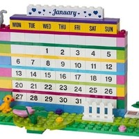 LEGO Friends Brick Calendar