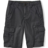 PS from Aero  Kids' Solid Core Cargo Shorts